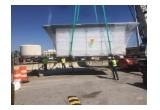 Crane Lifting Pre-Assembled Building