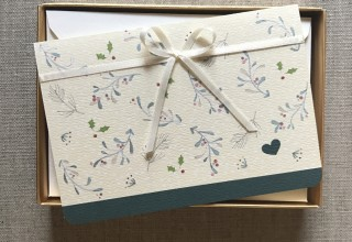 Heart of the Holiday Boxed Stationery