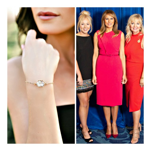 Glitzy Bella Chosen to Design Jewelry for Melania Trump and the 107th First Lady's Luncheon, a Premier Bipartisan Event Honoring Our Nation's First Lady