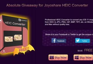 Joyoshare HEIC Converter Giveaway