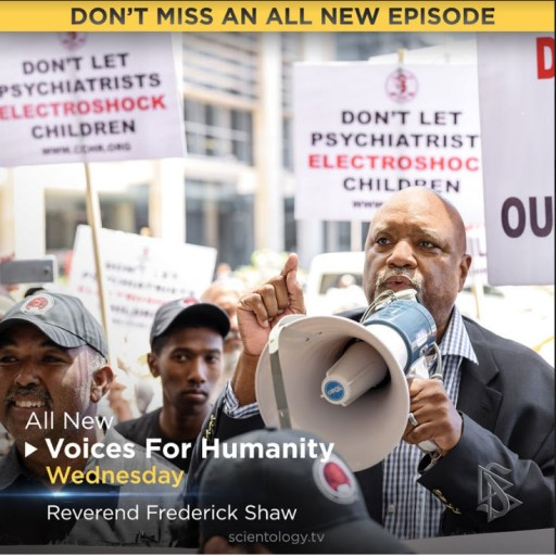 'Voices for Humanity' Joins Fred Shaw in Fight for Human Rights