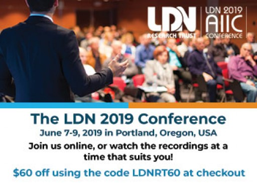 The Low Dose Naltrexone (LDN) 2019 Conference Will Be Held June 7-9 in Portland, Oregon