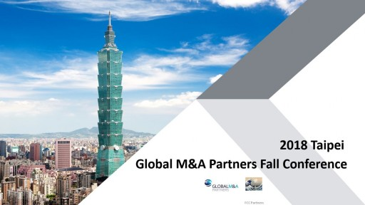 Global M&A Partners' Fall Conference took place in Taipei on Nov. 19 and 20
