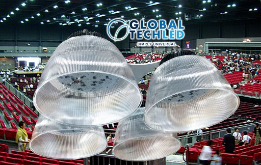 New LED Lighting Possibilities for Arenas, Convention Centers, Indoor Sports with the Pro-Bracket Mounting System for LED High Bays