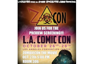 'ZombieCON' the Movie Preview Screening at LA Comic Con Announcement