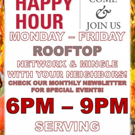 1010 Wilshire Hosts Daily Happy Hour Monday Through Friday From 6-9pm