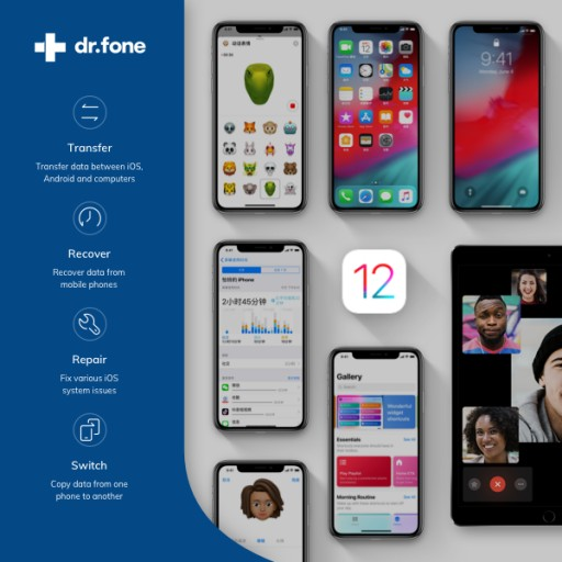 dr.fone Provides Zero-Day Support for iOS 12 Update