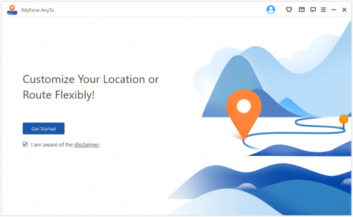 iMyFone AnyTo location changer