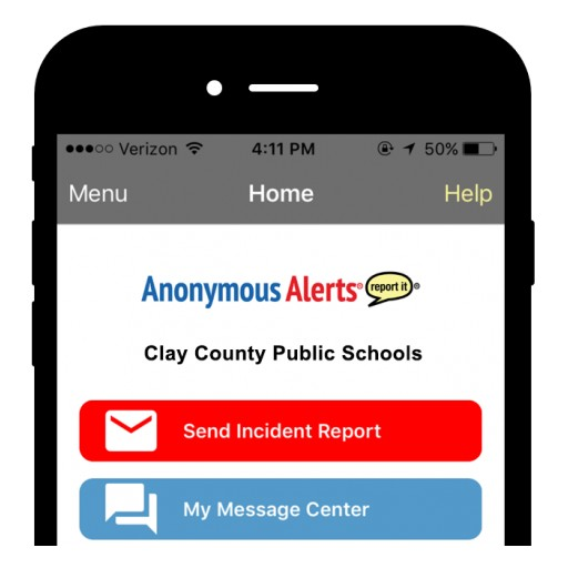 Clay County Schools Partners With Anonymous Alerts to Bolster School Safety and Bullying Prevention