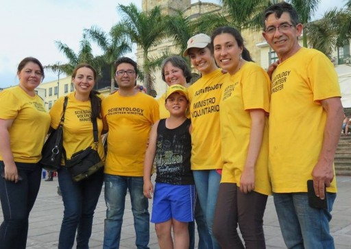 Scientology Volunteer Ministers Bring Help to the Town of Fusagasugá, Colombia