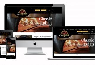 Website Mockup - CastigliasItalianRestaurant.com
