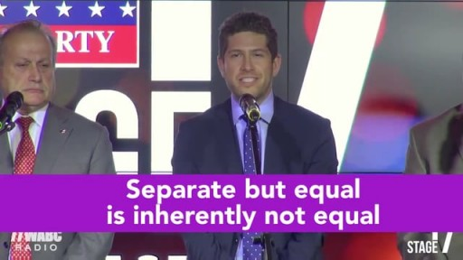 Watch Mike Tolkin stand up for transgender equality.