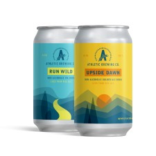 Run Wild IPA and Upside Dawn Golden Ale