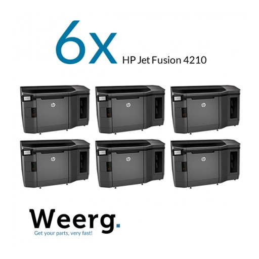 Unprecedented Agreement: Weerg Has Six New HP Jet Fusion 4210