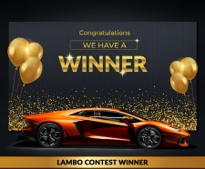 Lamborghini Giveaway
