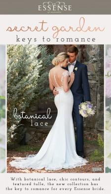 Essense of Australia Spring 2017 Wedding Dress Collection