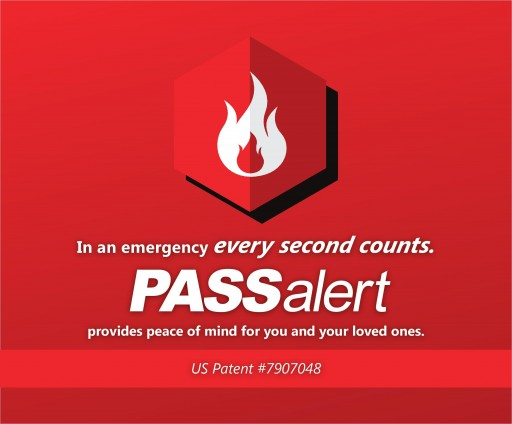 PASSalert Is a New Fire Safety Device That Can Save Your Life.