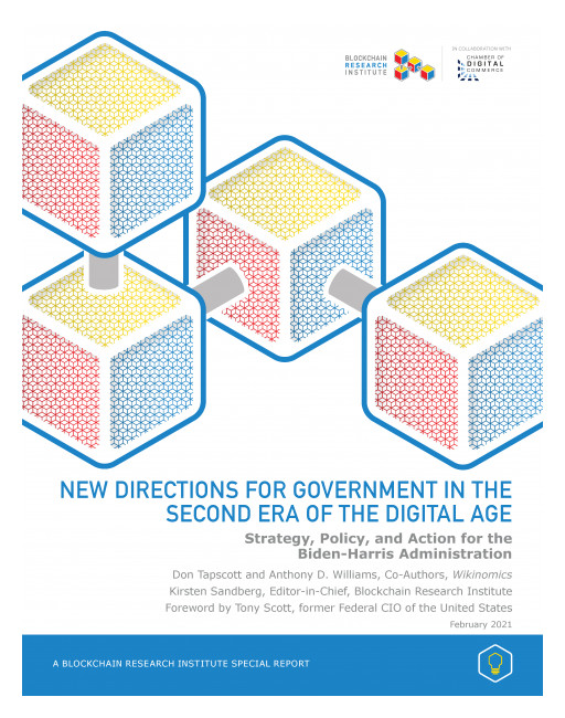 Don Tapscott Releases Comprehensive Report on How US Government Could Reimagine Digital Technology Policy