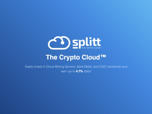 Splitt Introduces Advanced Cryptocurrency Cloud Server for More Profitable and Safe Crypto Mining