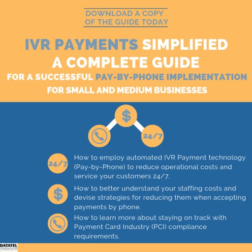 Datatel Releases New Guide - IVR Payments Simplified for Small and Medium Businesses