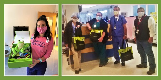 Cheeriodicals Delivered to Frontline Hospital Heroes and Hospitalized Children During COVID-19