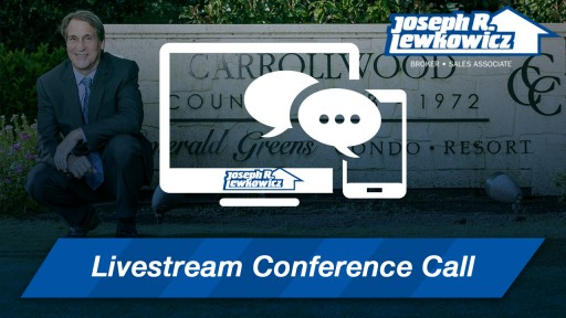 Tampa Realtor Joe Lewkowicz Launches Livestream Conference Call