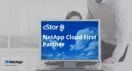 cStor Accepted Into NetApp Cloud First Partner Program