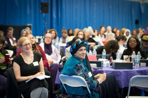 Over 600 Muslim and Jewish Women Gather to Rise Up Against Hate