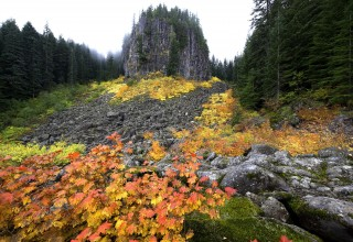 Table Rock Wilderness in fall