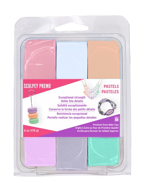 Sculpey Announces Sculpey Premo Pastel Multi-Pack