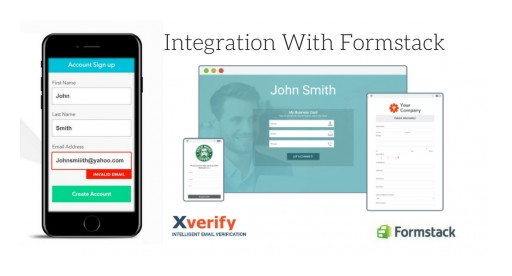 Xverify Announces New Integration With Formstack