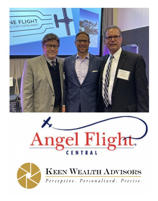Keen Wealth Advisors Supports Angel Flight Central's Annual Benefit Gala as Lead Sponsor