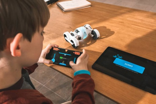Armz, a Smart Racing Robot That Incorporates AR Technology Into Its Gameplay and Block Coding Education Features, is Now 100 Percent Funded on Kickstarter
