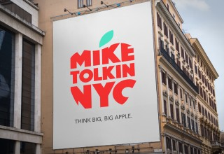 Mike Tolkin For Mayor Signage
