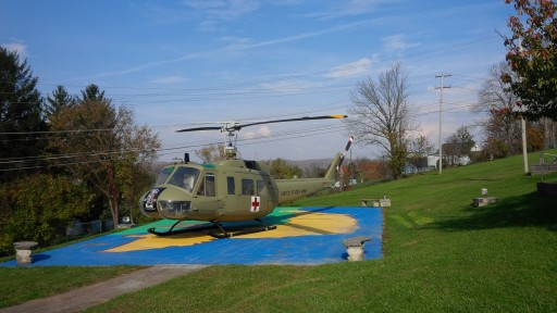 Mahaffey Provides Temporary Hangar Pro Bono for Historic Vietnam War Helicopter