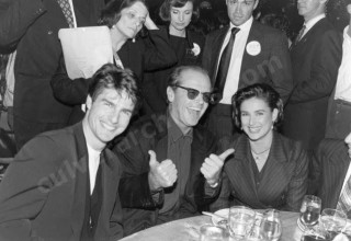 Tom Cruise, Jack Nicholson and Demi Moore photo by Peter Borsari