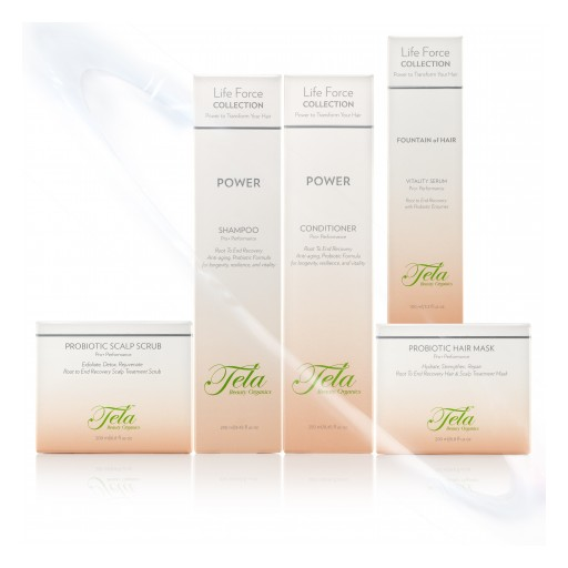 Tela Beauty Organics by Philip Pelusi Launches Probiotic Scalp Scrub