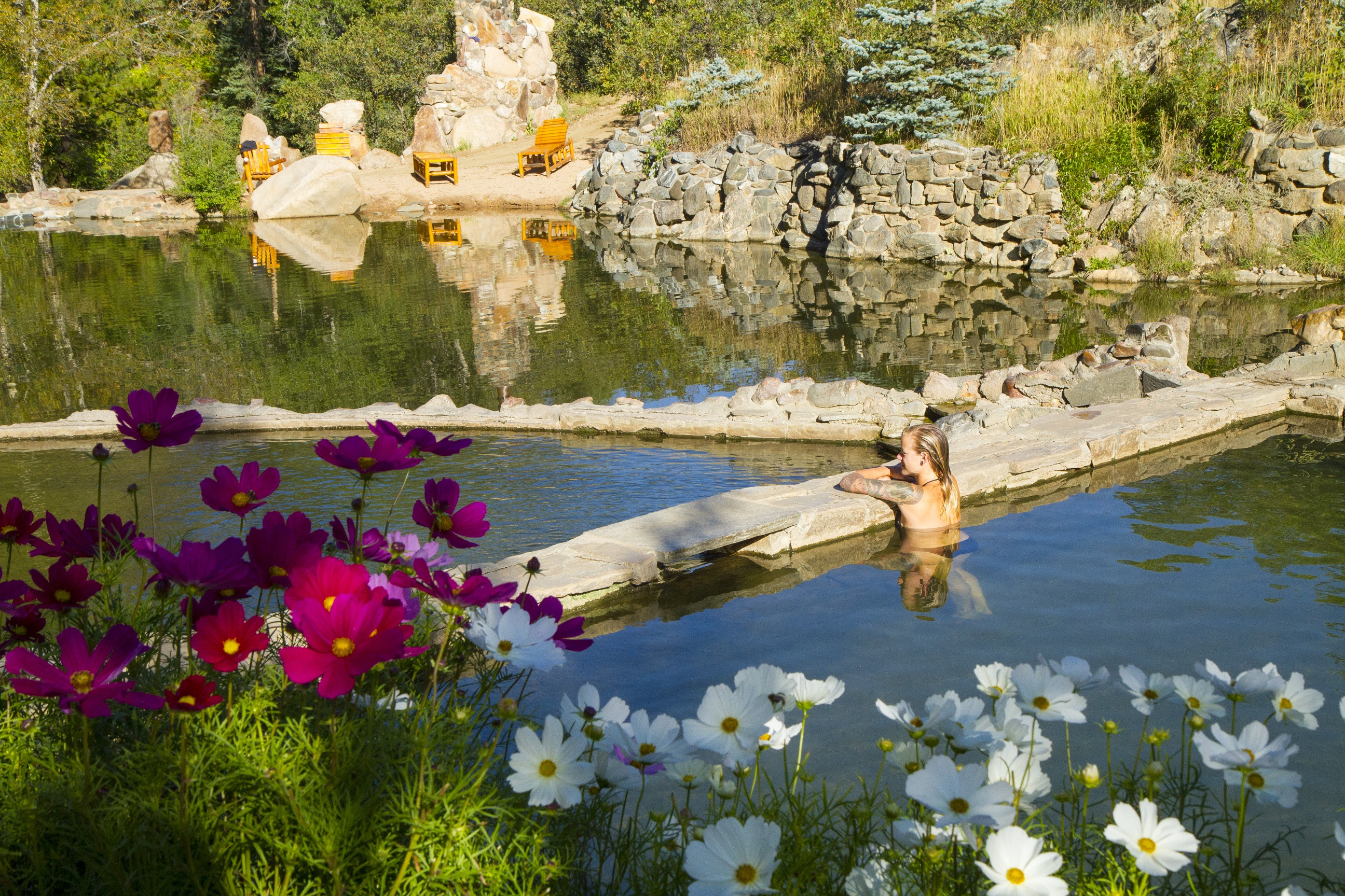 Strawberry Park Hot Springs Steamboat Springs The Thermal Waters
