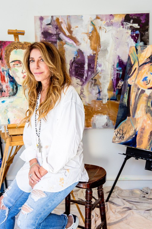 ART BASEL MIAMI—LOS ANGELES PAINTER DONNA ISHAM BALANCES BEAUTY and POWER of the FEMALE FORM WITH 'unBOUNDED' SERIES