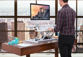 The Power Pro by VersaDesk  Sit-to-Stand Desk Riser
