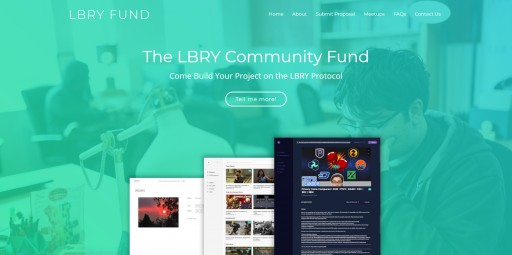 LBRY Inc. Announces Launch of LBRY.fund, Awards First Community Grant to LBRY-C