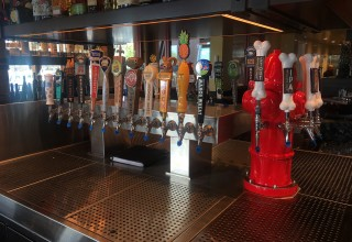 Brewskis Beverage Service prides itself on its custom beer tower designs developed to turn heads and call out clients' brands.