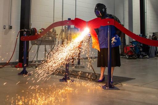 Penn College Celebrates Welding Lab Expansion