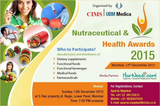 Nutraceuticals & Health Awards 2015