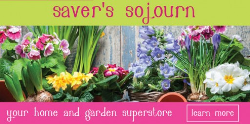 Saver's Sojourn Features Outdoor Furnishings and More