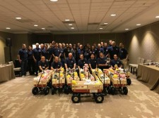 Turner Construction Company Makes Special Delivery to Patients in Need at Holtz Children's Hospital