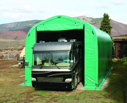 WeatherPort Shelter Systems on Display at Tacoma RV Show