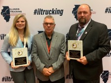Carrier One personnel win safety awards