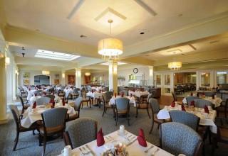 Fine dining is a hallmark of St. Catherine's Village