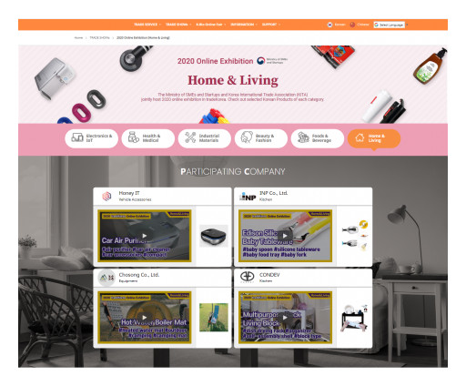 Outstanding Korean Products Introduced on TradeKorea Webpage - Home & Living